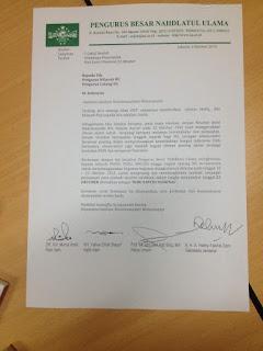 PBNU Keluarkan Surat Himbauan Sambut Hari Santri Nasional