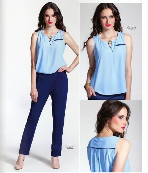 pantalon y blusa modelag PV 2015