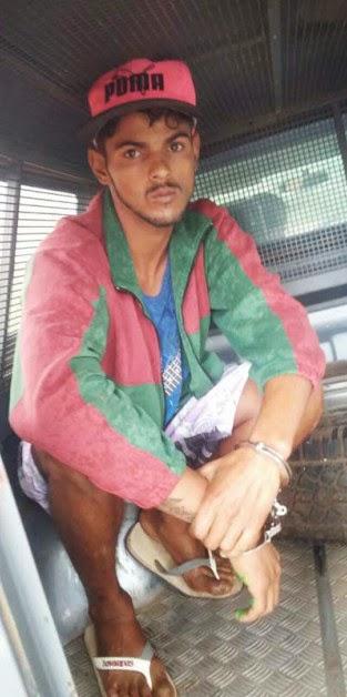 Mariel foi conduzido até a delegacia de polícia para prestar esclarecimentos e foi encarcerado logo em seguida (Foto: Reprodução/Notícia Livre)