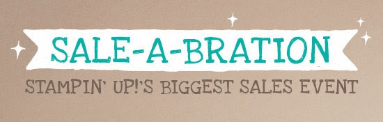 Sale-a-Bration at Stampin' Up!