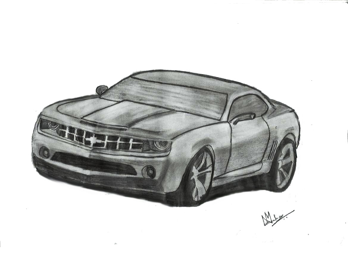 The Muscle Cars Inc My Sketches