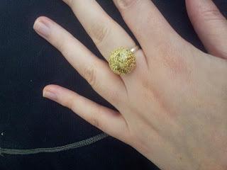 bague-dôme-bijoux-doré-diy