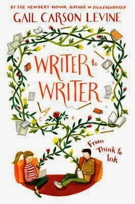 Writer to Writer Gail Carson Levine book cover