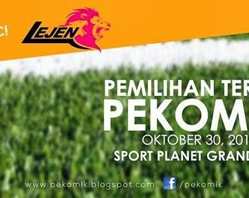 Pemilihan TERBUKA Skuad Bola Sepak Pekomik FC 2013