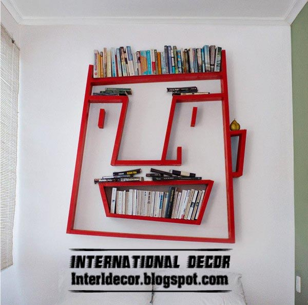 Fun wall shelves for kids room fun bookshelf design Fun wall shelves