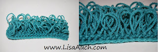 Crochet Patterns Loop Stitch : Crochet Stitches How to crochet Loops {The Loop or Fur Stitch tutorial ...