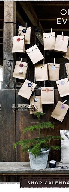 Pakkekalender_ CHRISTMAS PAPER CALENDAR BAGS, S/24