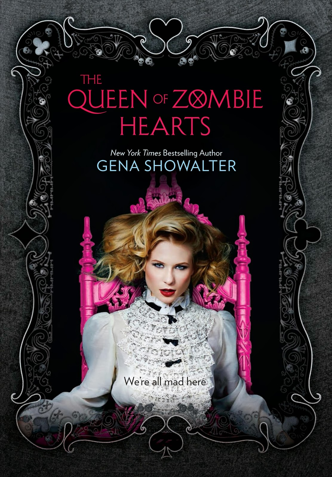 vvb32 reads: Cover reveal: Queen of Zombie Hearts by Gena Showalter