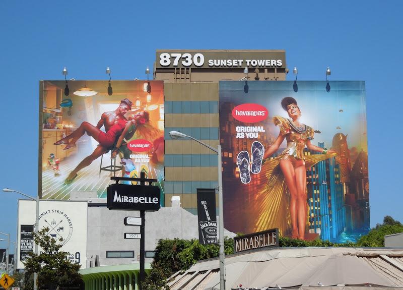 Havaianas 2012 billboards