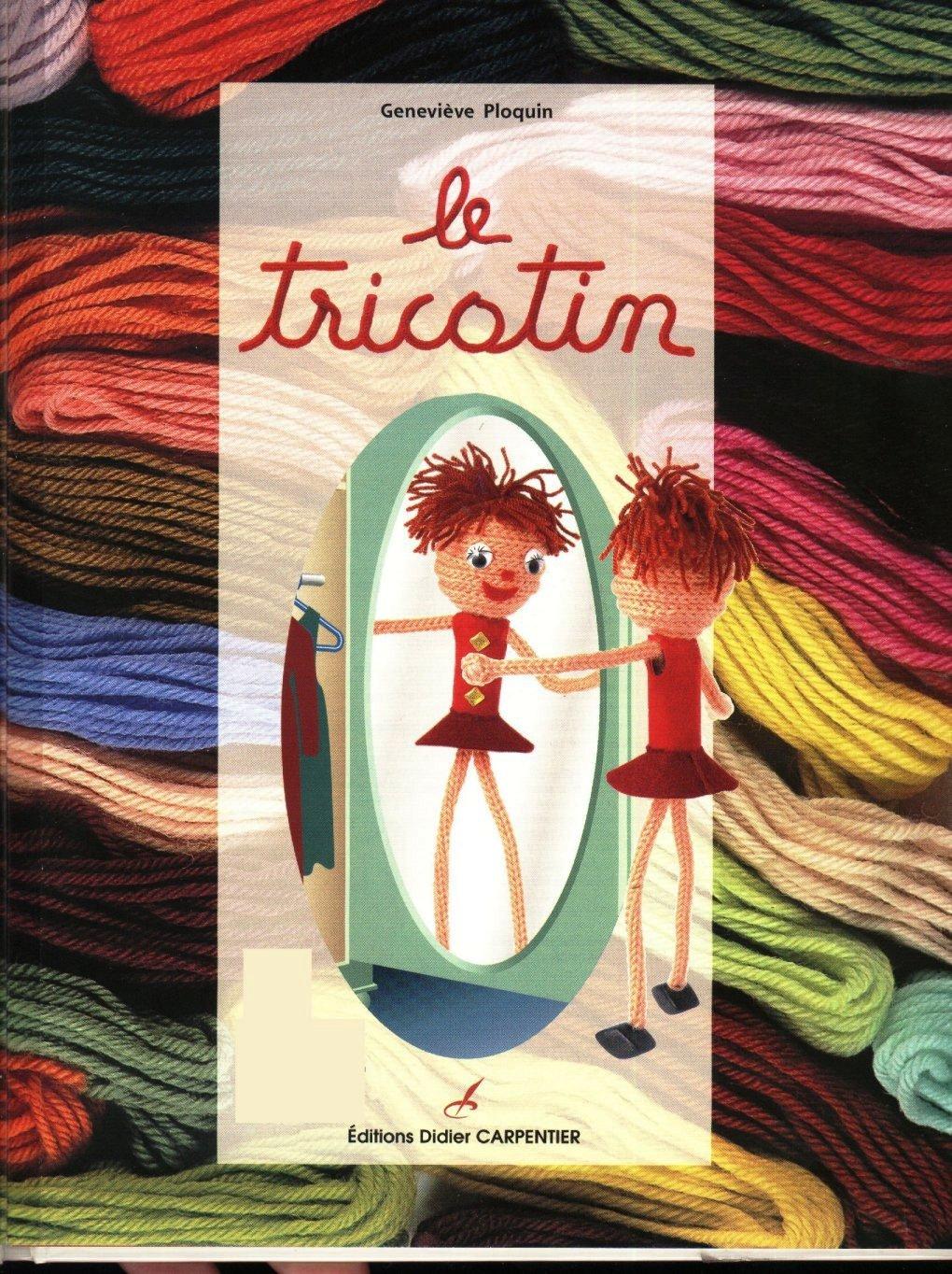 Bonecos em tricô Le Tricotin