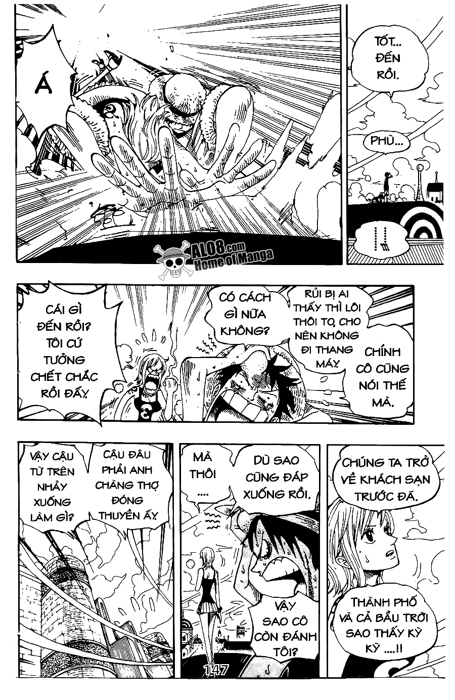 One Piece Chap 340 - truyen One Piece online