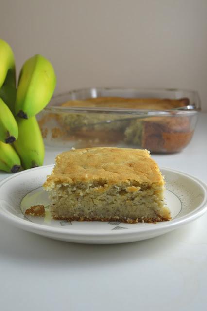 Banana Vanilla Cake