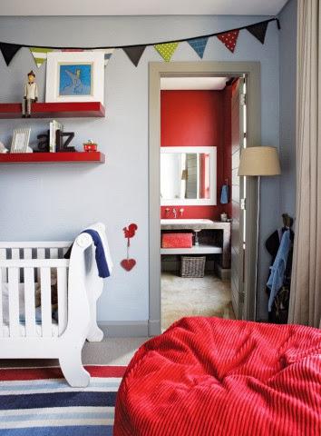 Stymulująco urzadzony dziecinny pokój