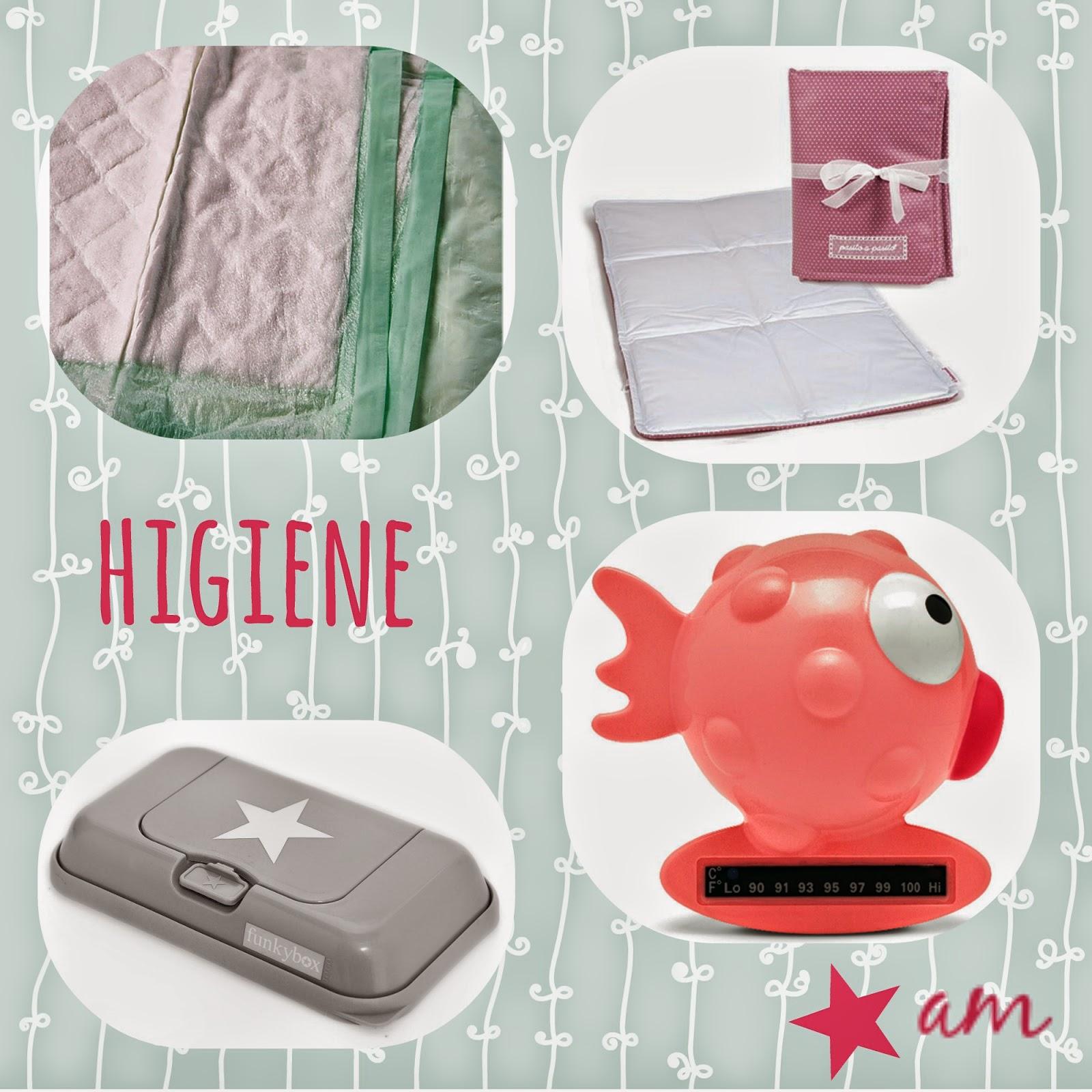 articulos de bebe utiles - higiene