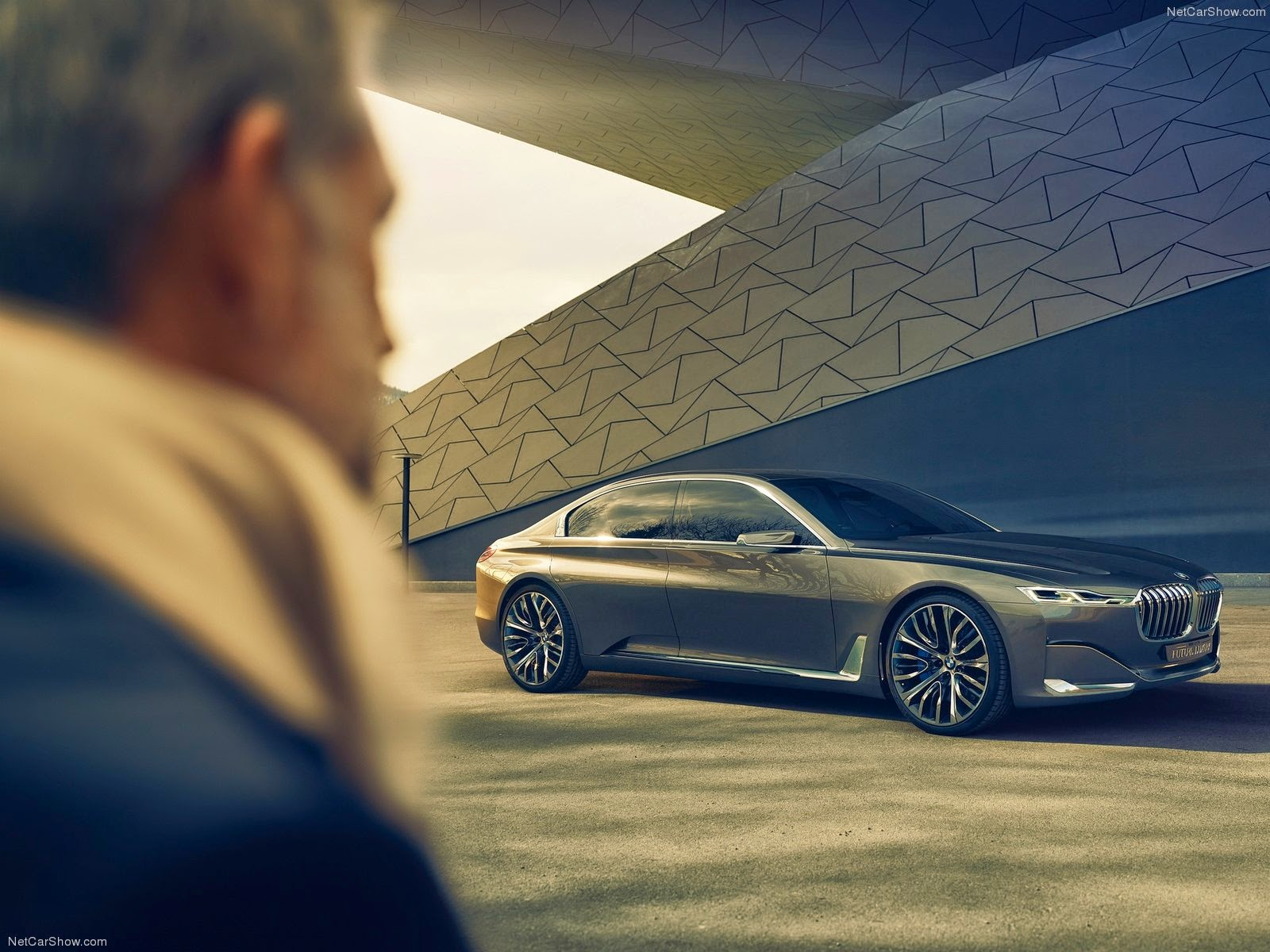 The BMW Vision Future Luxury Concept Has Been Revealed At Beijing Motor Show New Concepts Key Exterior Styling Elements Contemporary Interior