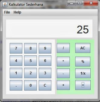 Membuat Kalkulator dengan Java