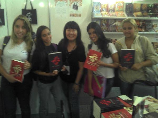 Participação da giz Editorial no Salão Internacional do Livro de Suzano