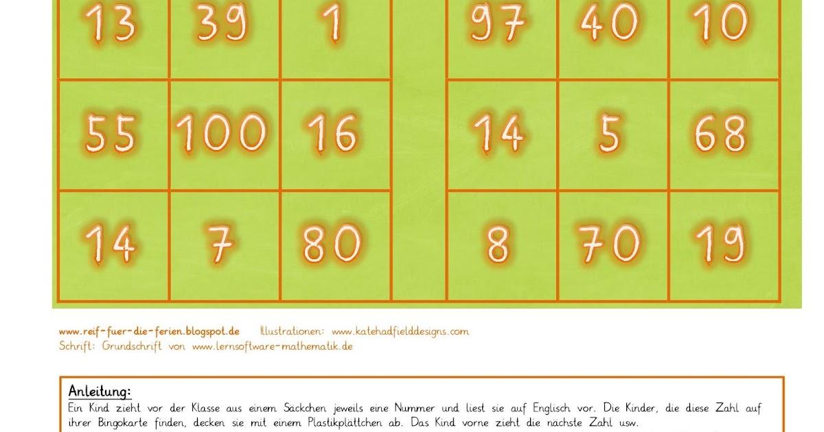 bingo zahlen heute