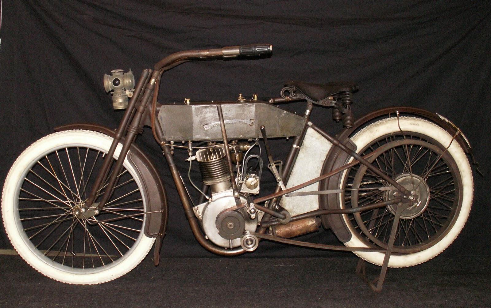 Harley-Davidson 1912 Silent Gray Fellow