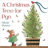 Preschool Christmas tree books and activities for December