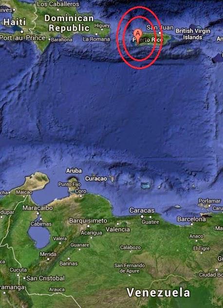 Magnitude 2.9 Earthquake of Pole Ojea, Puerto Rico 2014-09-11