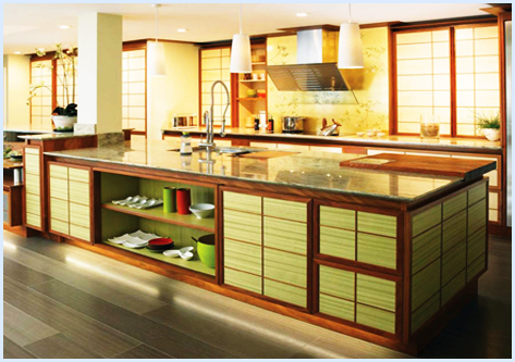 Kitchen Colors: Asian Kitchen Design