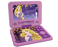 DVD Player Portátil infantil menina Rapunzel Tectoy