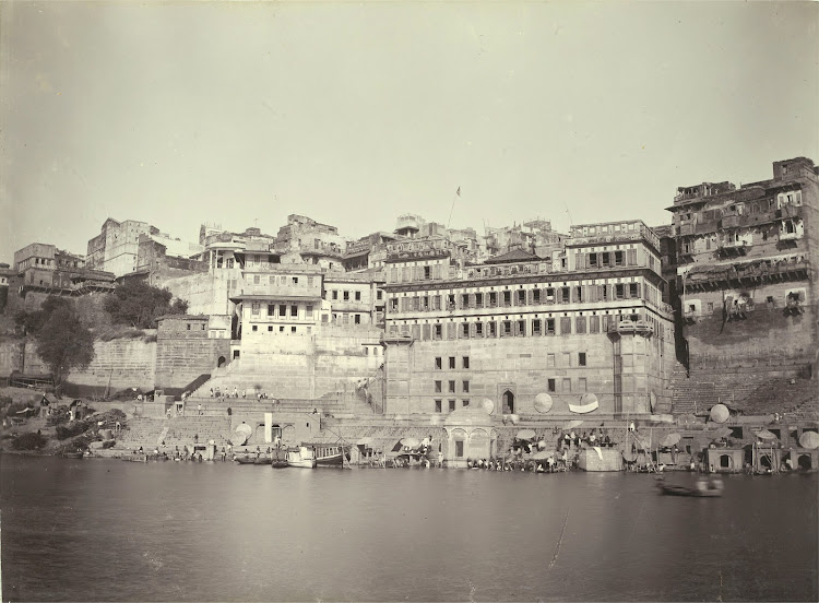 Baji Rao's Ghat - Benares (Varanasi) 1905