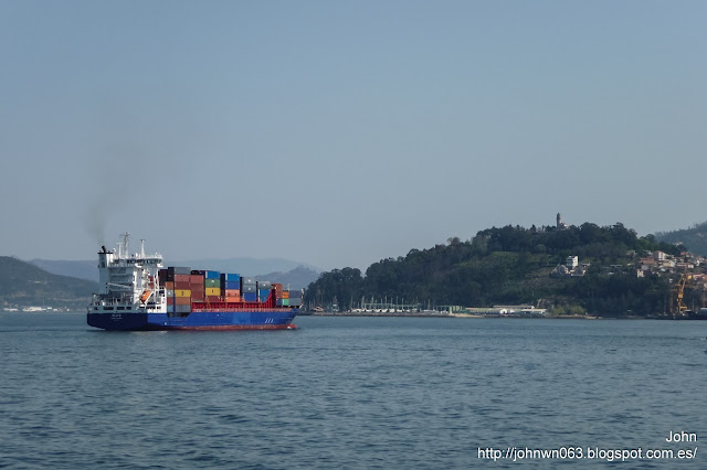 elite, container ship, portacontenedores, containero, guixar, vigo