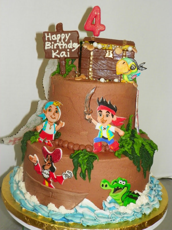 Plumeria Cake Studio: Jake and the Neverland Pirates Cake 2
