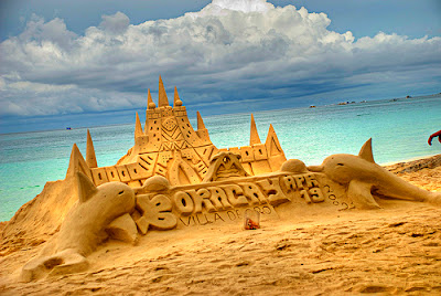 Boracay, Philippines Sand Castle