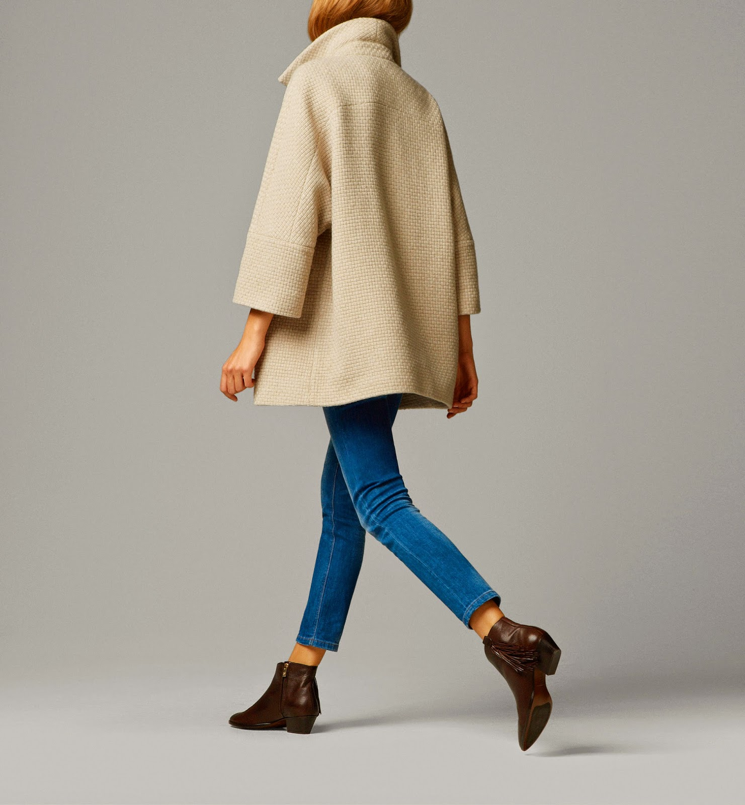 gorgeous coat ideal for someone with psoriasis