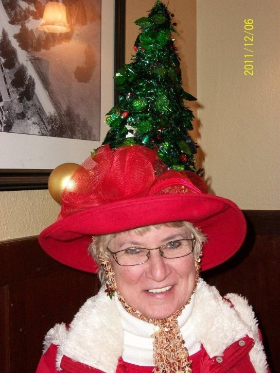 The red hat society december
