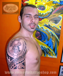 Filipino Tribal Tattoos on Frank Ibanez Jr   Roman Tattoo Spartans Tattoo  Filipino Tribal Tattoo