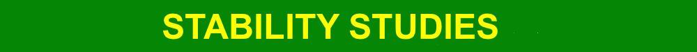 Pharmaceutical Stability Studies | API | Formulations