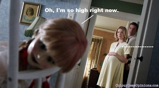 Annabelle doll 2014 movie still meme