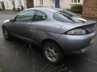 Dented Ford Puma