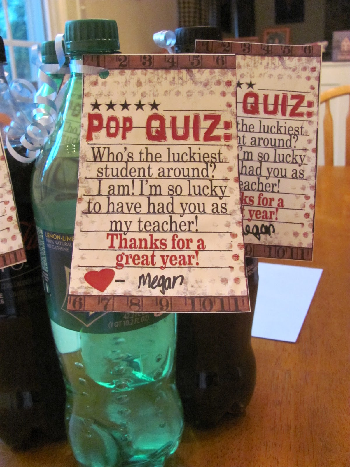 Pearls on a Pig: Simple (and Inexpensive) Gifts for Teachers