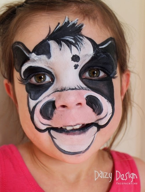 12-Christy Lewis Daizy-Face Painting - Alternate Personalities-www-designstack-co