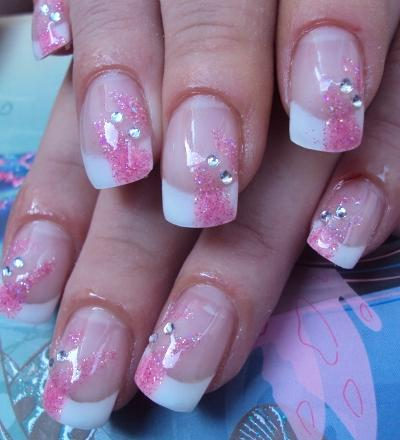 acrylic nails trend fashion gel nails