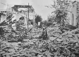 TERREMOTO EN SAN JUAN 1944