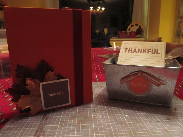 Easy instructions for creating your own family Thankful Album