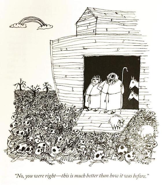 Noah's Ark Cartoon Religious Joke