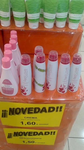 Crema antisequedad para pies y desodorante Red Love by Chica Fashion - Deliplús