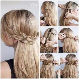 Ladies Hair Styles Tutorials #6.