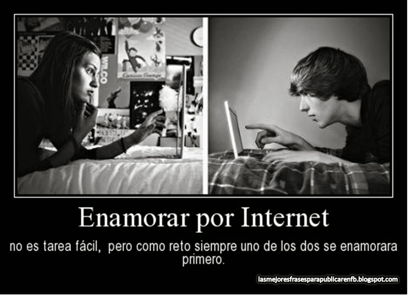 Frases Y Reflexiones De Amor: Enamorar Por Internet No Es Tarea Fácil