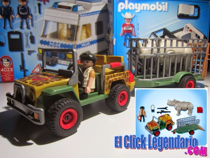 el click legendario playmobil 4832 el jeep con. Black Bedroom Furniture Sets. Home Design Ideas