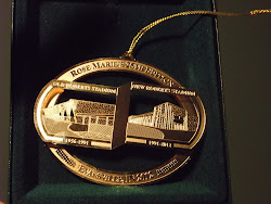 Remember Roberts Stadium With A Roberts Stadium Christmas Ornament From Rose Marie's