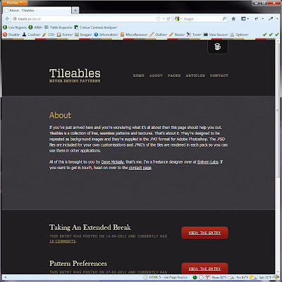 Screen shot of http://tileabl.es/about.
