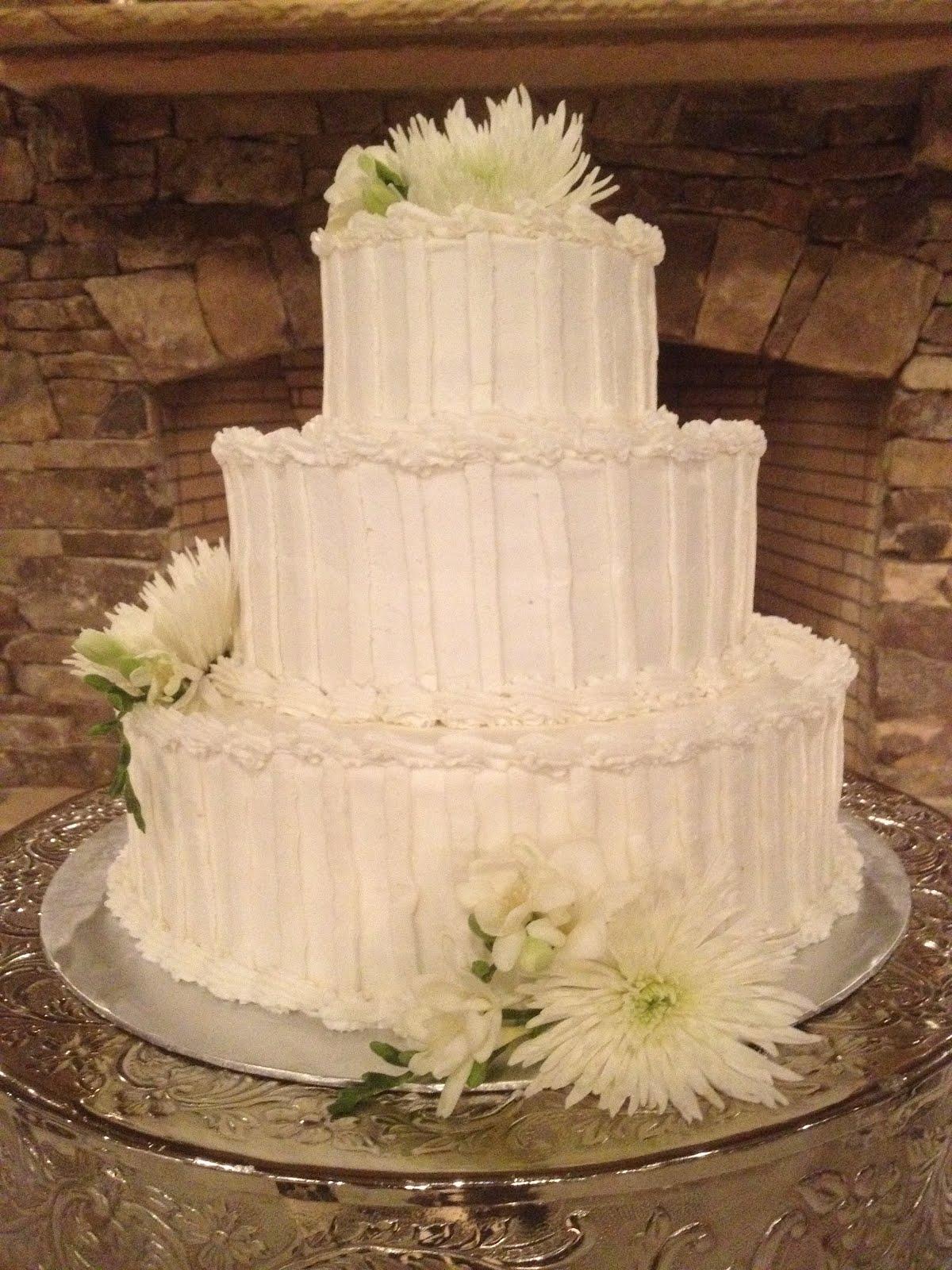 Creative Cakes N More Simply Elegant Wedding Cake
